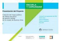 Afiche Escuela y Comunidad invitacion 2